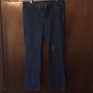Lands end denim jeans
